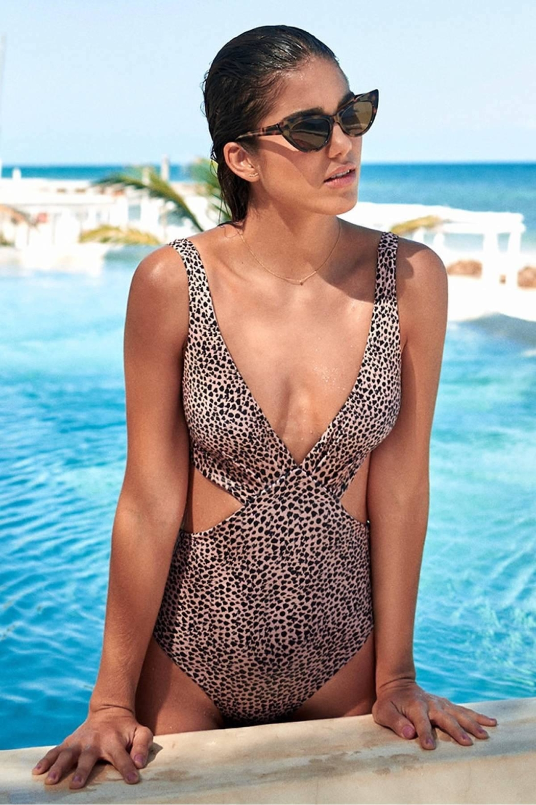 Malai Swimwear Cheeta Bondi One-Piece - Main Image