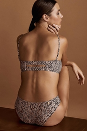 Malai Swimwear Cheeta Bralette And Bottom - Product Mini Image
