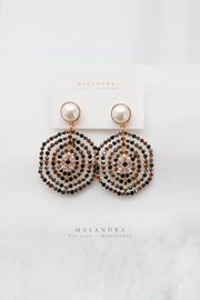 MALANDRA Jewelry Carolina Crystal Earrings - Product Mini Image