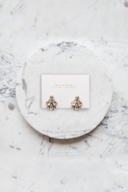MALANDRA Jewelry Crystal Studs Ii - Product Mini Image