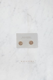 MALANDRA Jewelry Dot Crystal Studs - Product Mini Image