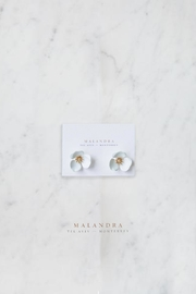 MALANDRA Jewelry FLOWER STUDS - Product Mini Image