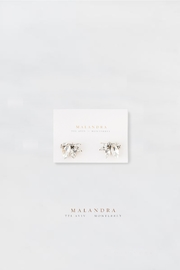 MALANDRA Jewelry Lila Crystal Earrings - Front cropped