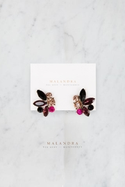 MALANDRA Jewelry Renata Crystal Earrings - Product Mini Image