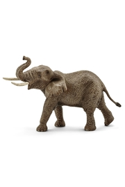 Schleich Male African Elephant Figurine - Product Mini Image