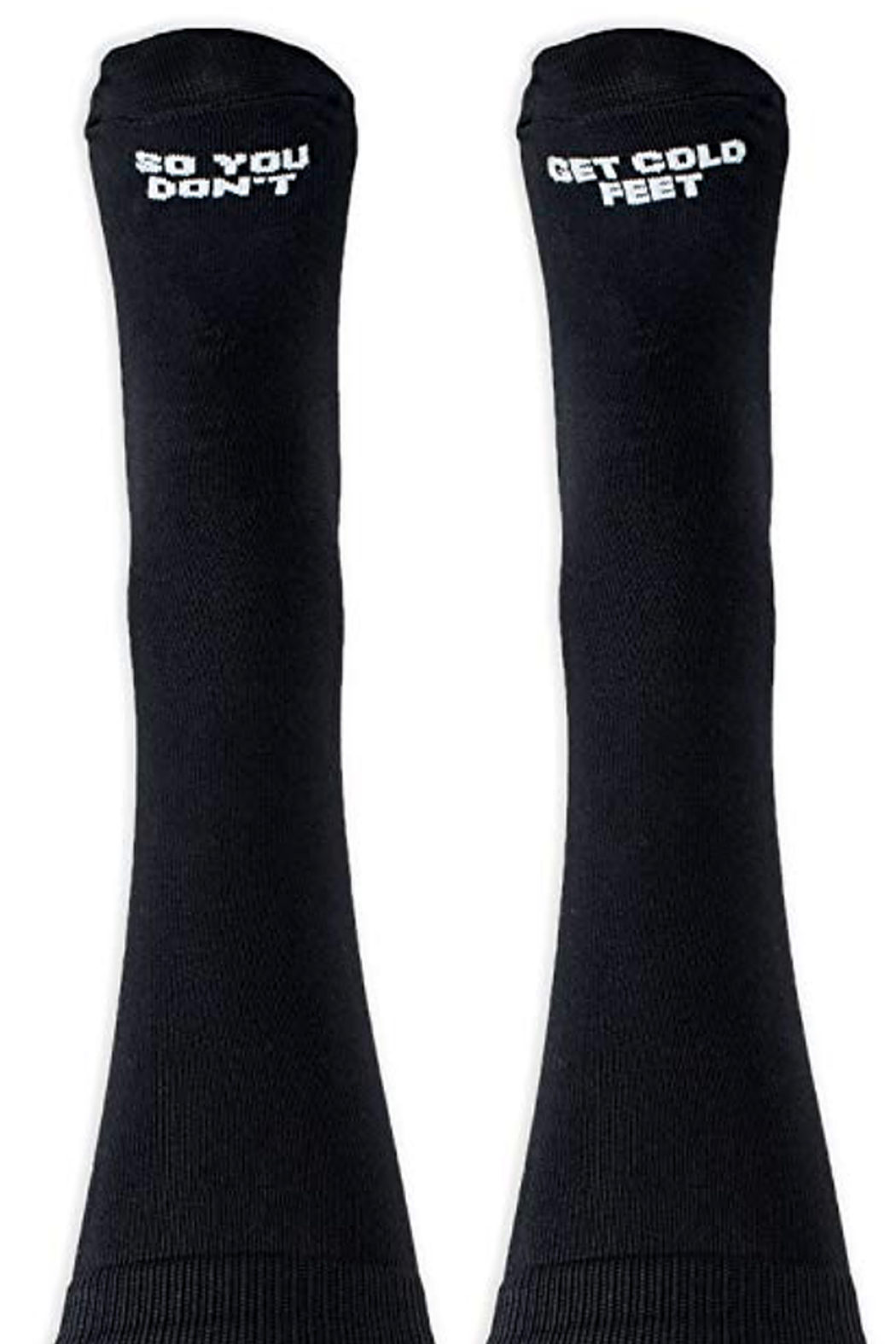 The Birds Nest MALE DRESS SOCKS DON'T GET GOLD FEET - Main Image