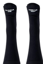 The Birds Nest MALE DRESS SOCKS TO WALK ME DOWN THE AISLE - Front cropped