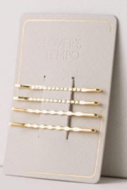 Lovers Tempo  Mali Bobby Pin 4 Pack - Product Mini Image