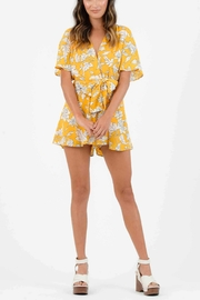 Lucca Malia Belted Romper - Front cropped