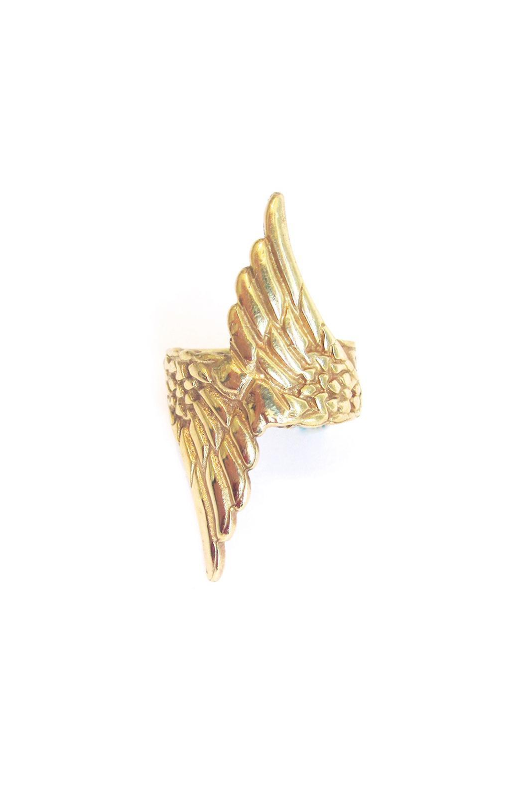 Malia Designs Wing Ring Gold - Side Cropped Image