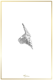 Malia Designs Wing Ring Silver - Front full body