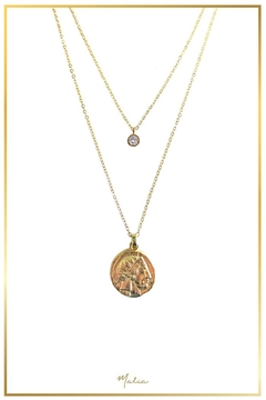 Malia Jewelry 2-Pack Golden Necklaces - Alternate List Image