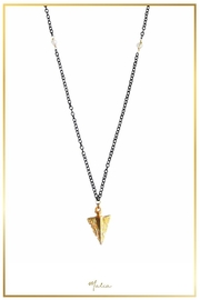Malia Jewelry Arrow Black Necklace - Product Mini Image