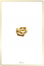 Malia Jewelry Gold Bamboo Ring - Product Mini Image