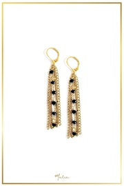 Malia Jewelry Gold Chain Earrings - Product Mini Image