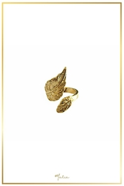 Malia Jewelry Gold Leaf Ring - Product Mini Image