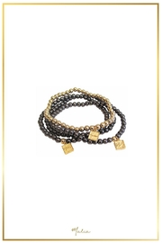Malia Jewelry Golden Beads Bracelet - Product Mini Image