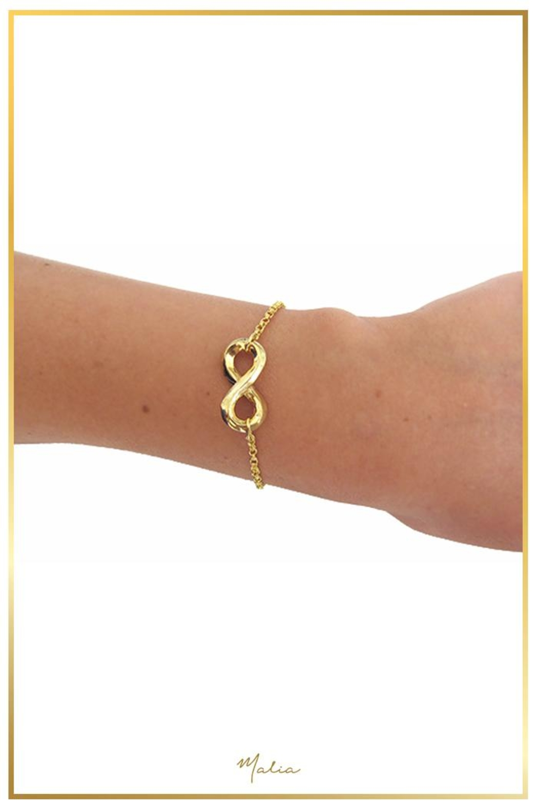 Malia Jewelry Infinite Bracelet - Side Cropped Image