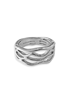 Shoptiques Product: Ripple Waves Ring