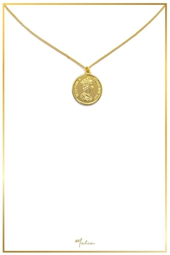Malia Jewelry Roman Coin Necklace - Product List Image