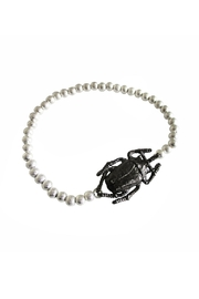 Malia Jewelry Silver Beetle Bracelet - Product Mini Image