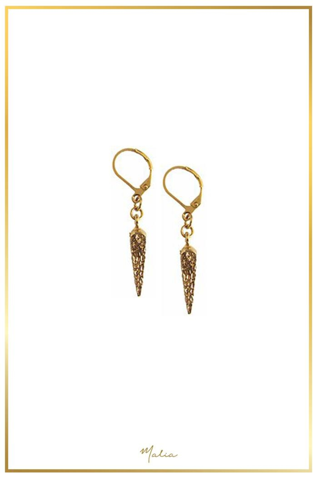 Malia Jewelry Spike Earrings - Main Image