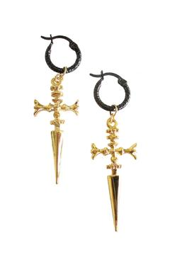 Shoptiques Product: Sword Black Hoops