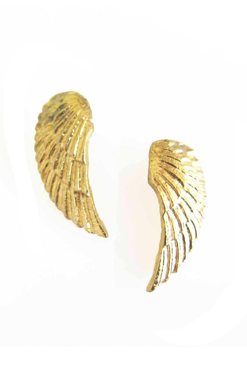 Malia Jewelry Wing Earrings - Front Full Image