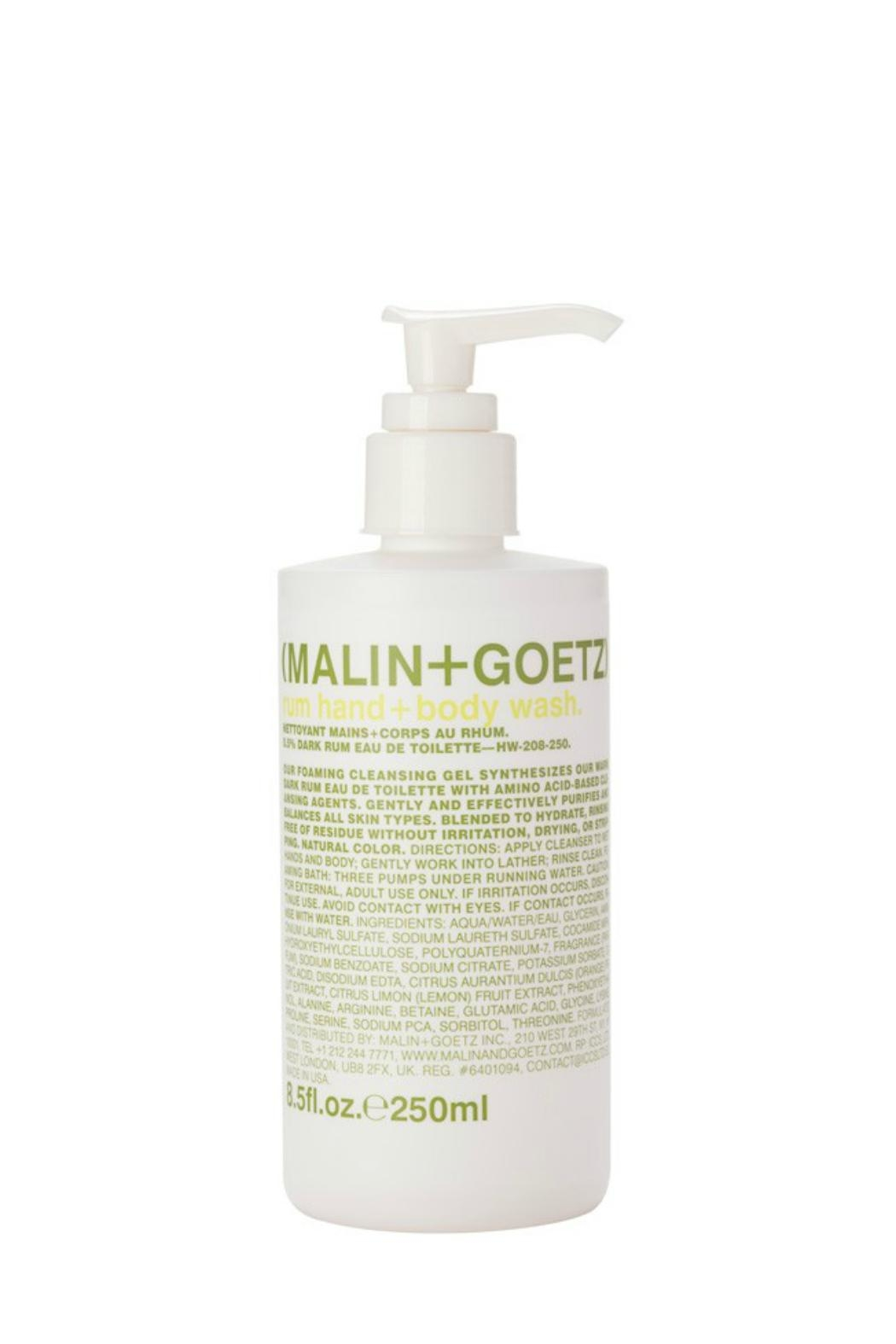 Malin + Goetz Rum Hand+body Wash - Front Cropped Image