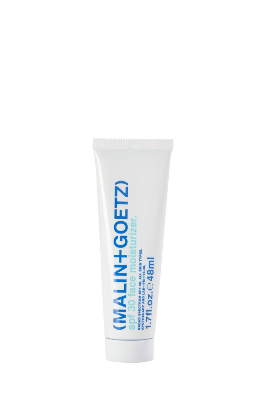 Malin + Goetz Spf30 Face Moisturizer - Front Cropped Image