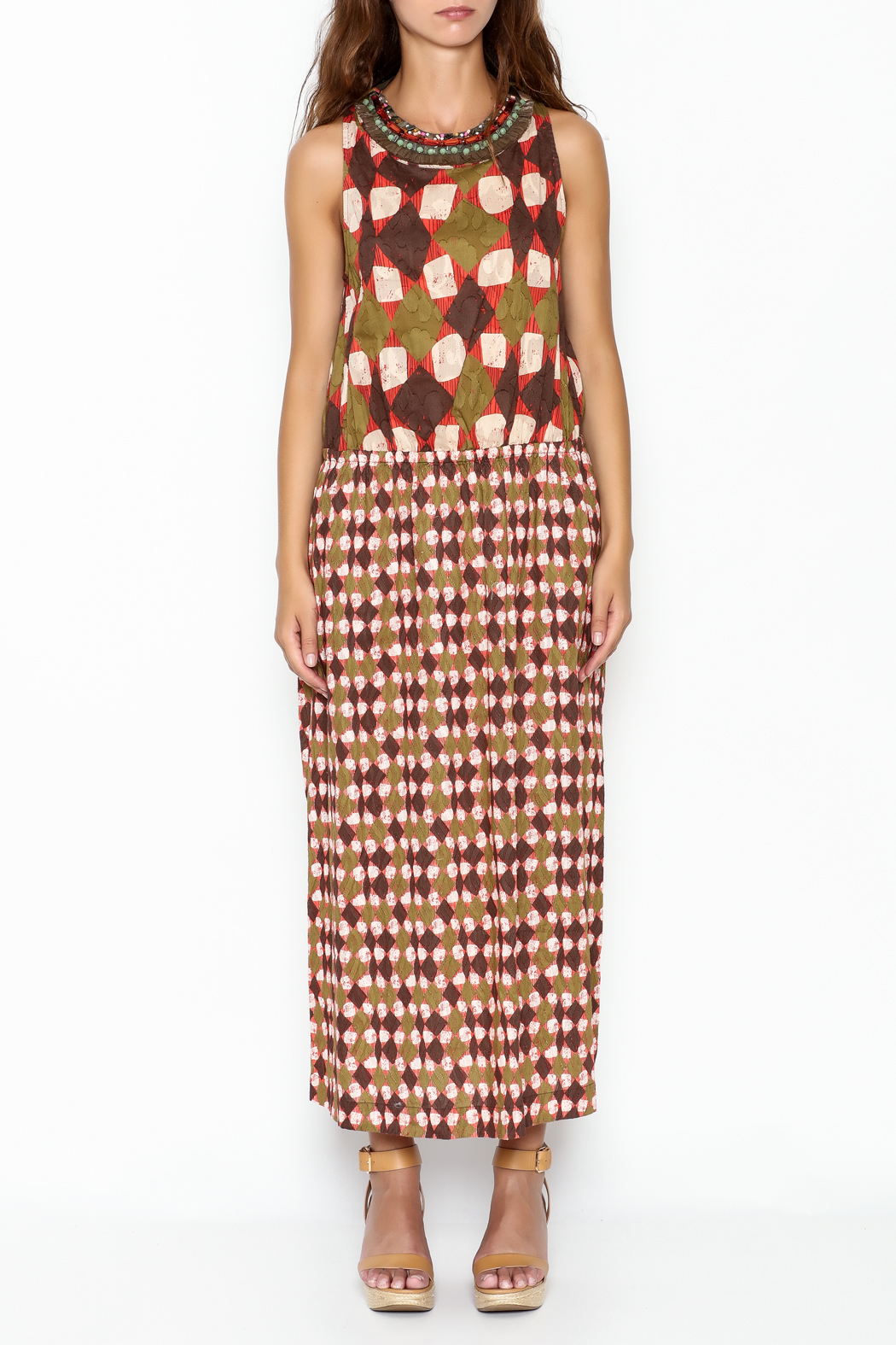 Maliparmi Multi Patterned Maxi Dress from Eastern Shore by Marc ...