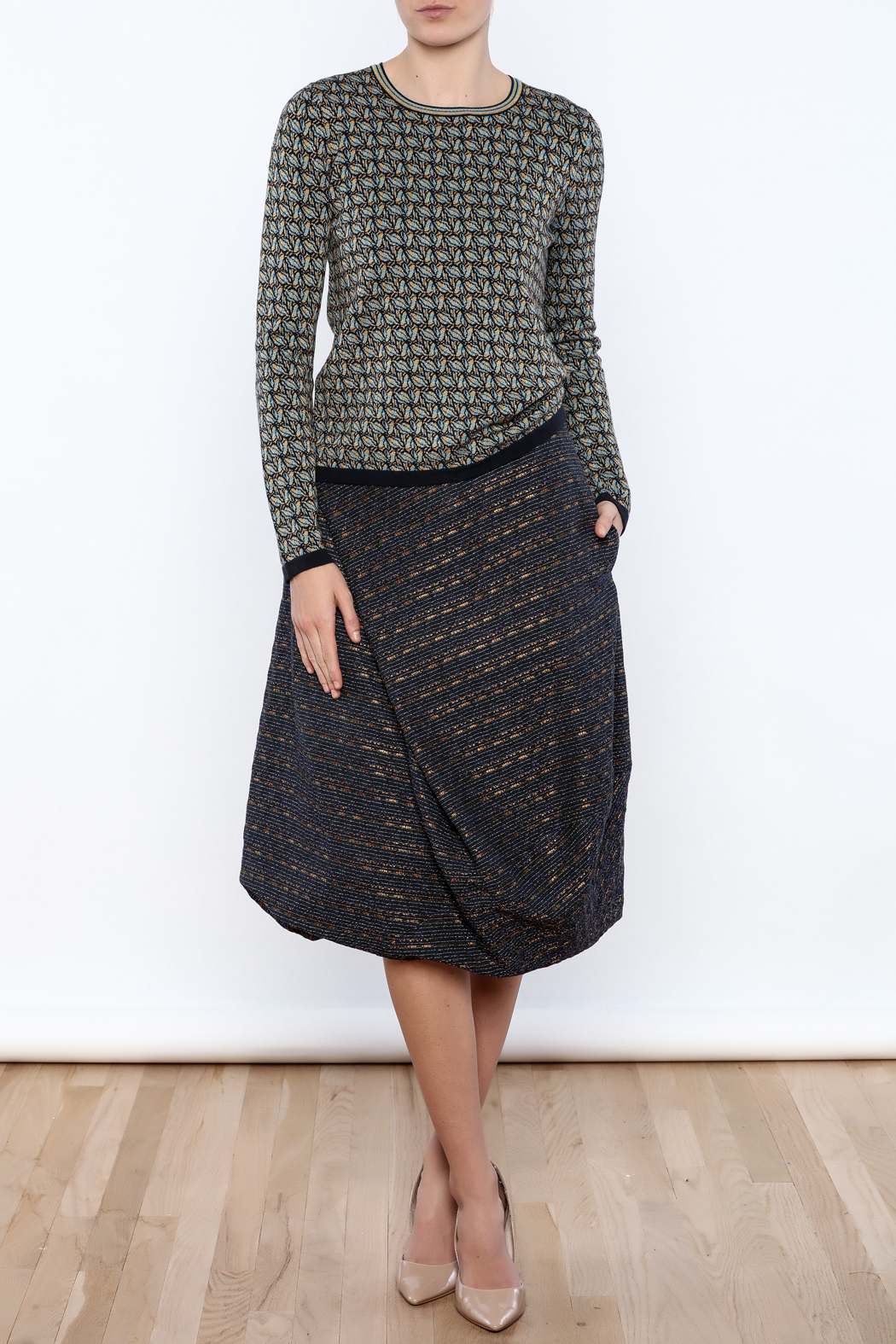 Maliparmi Pull Over Sweater - Front Full Image