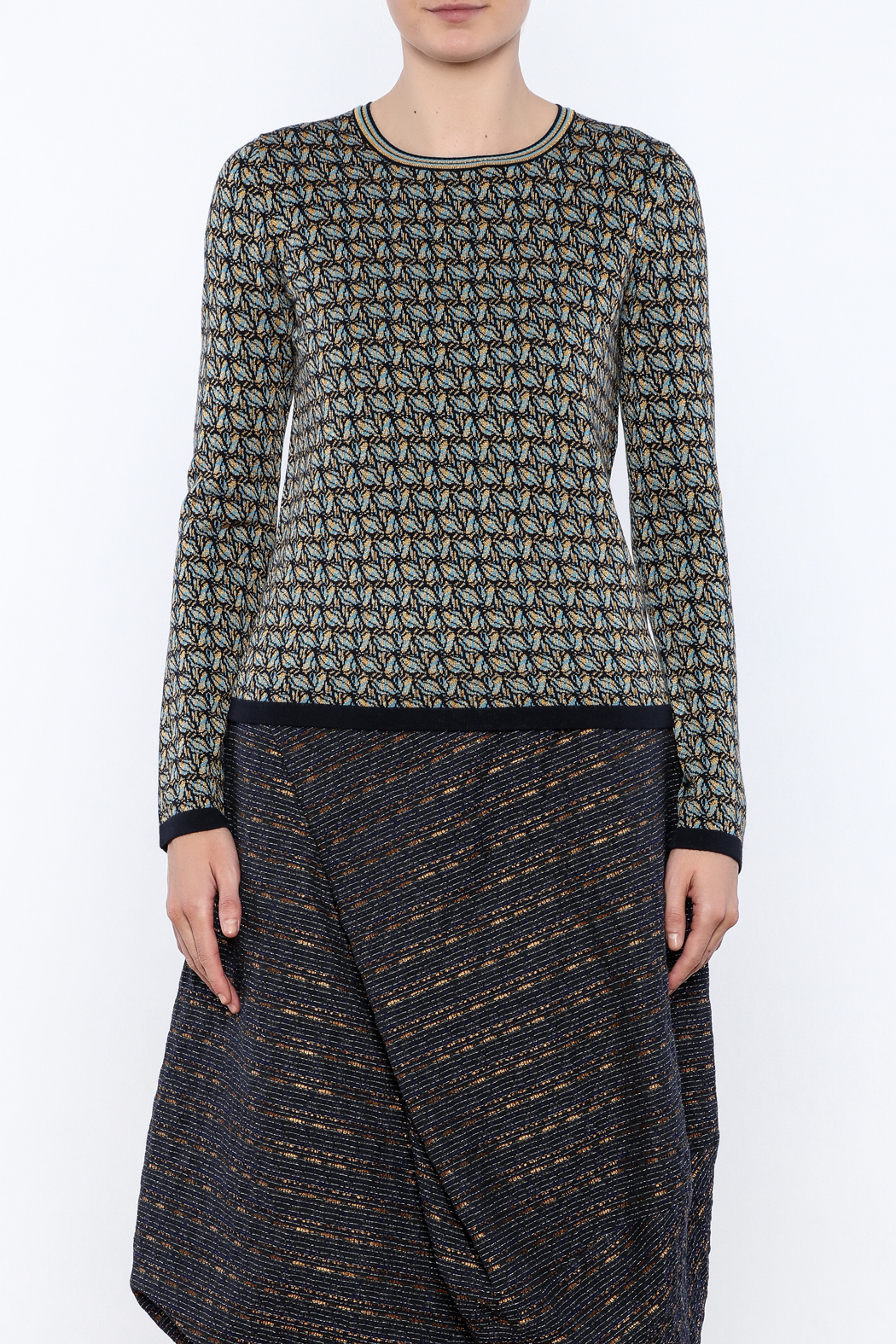 Maliparmi Pull Over Sweater - Side Cropped Image