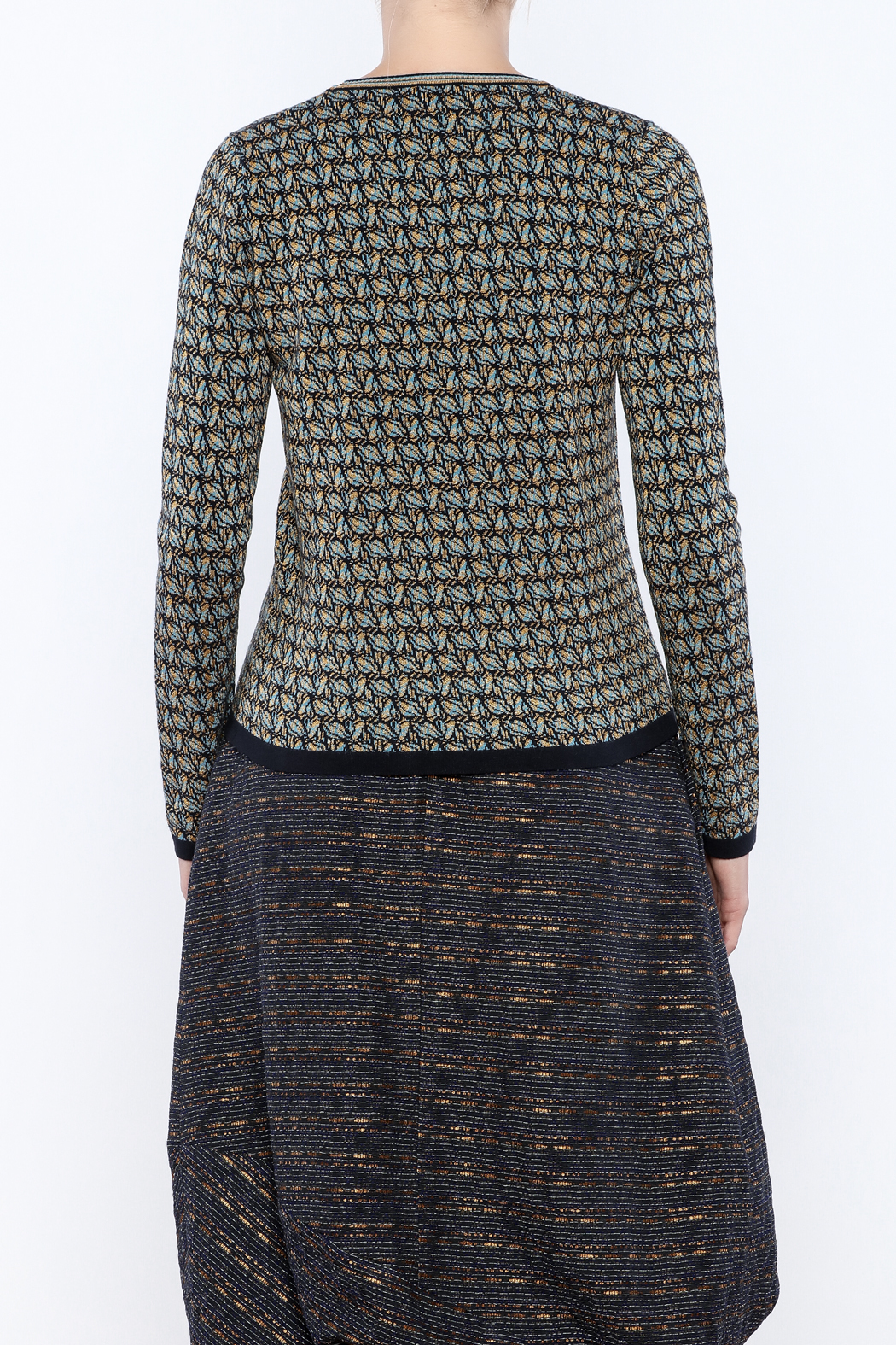 Maliparmi Pull Over Sweater - Back Cropped Image