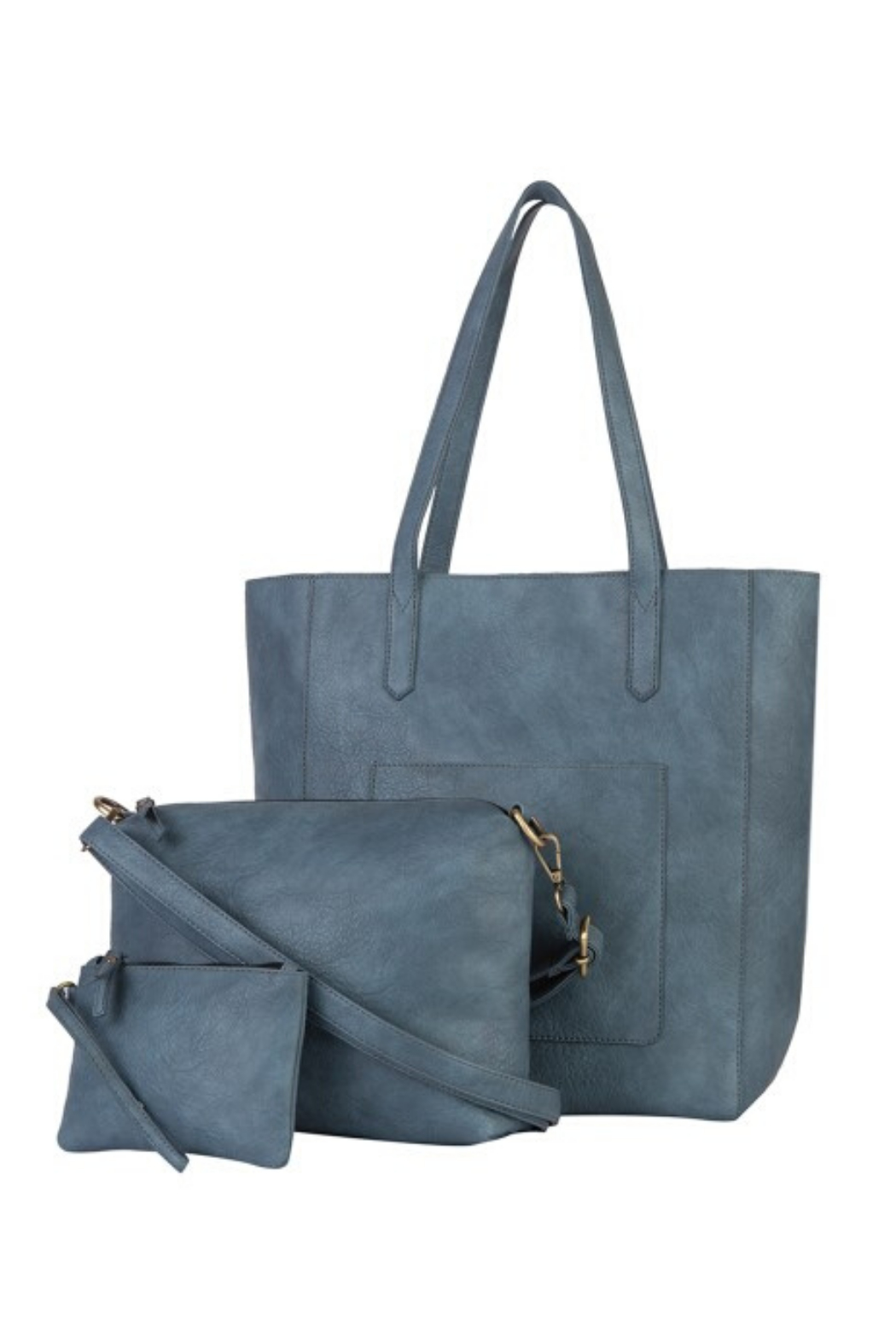 Mona B Mallory 3 Pc Tote - Side Cropped Image