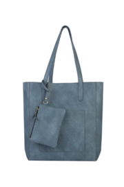 Mona B Mallory 3 Pc Tote - Front full body