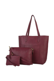 Mona B Mallory 3 Pc Tote - Side cropped