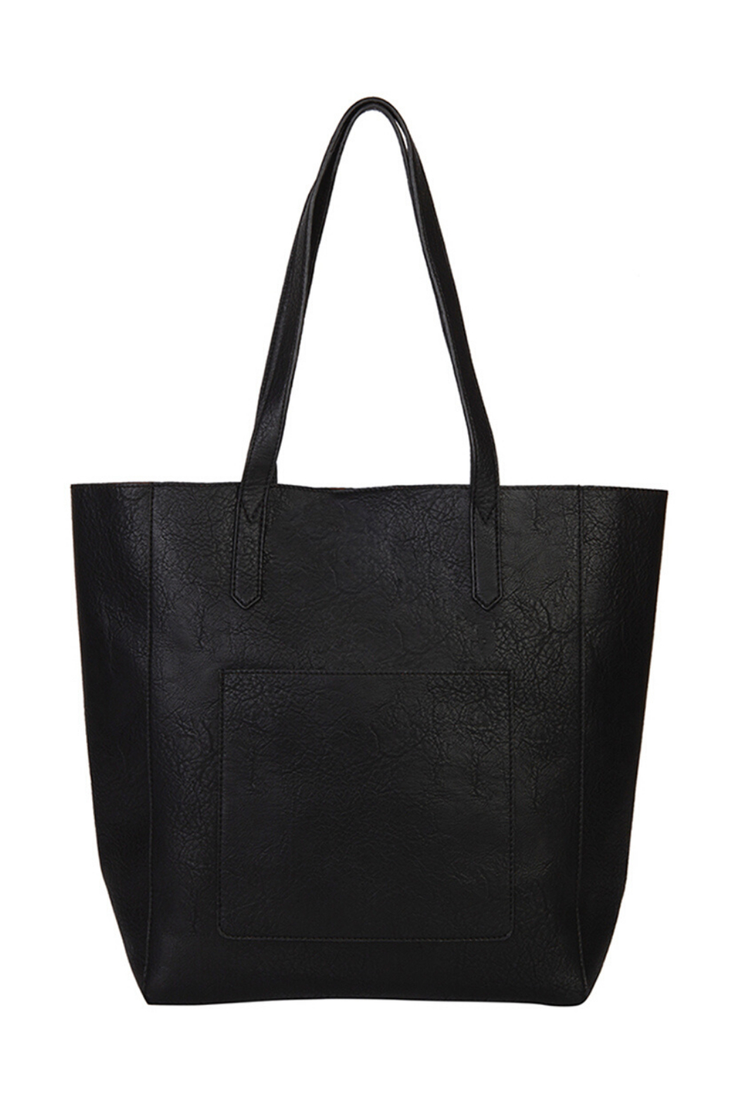 Mona B Mallory 3 Pc Vegan Leather Tote - Front Full Image
