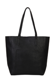 Mona B Mallory 3 Pc Vegan Leather Tote - Front full body