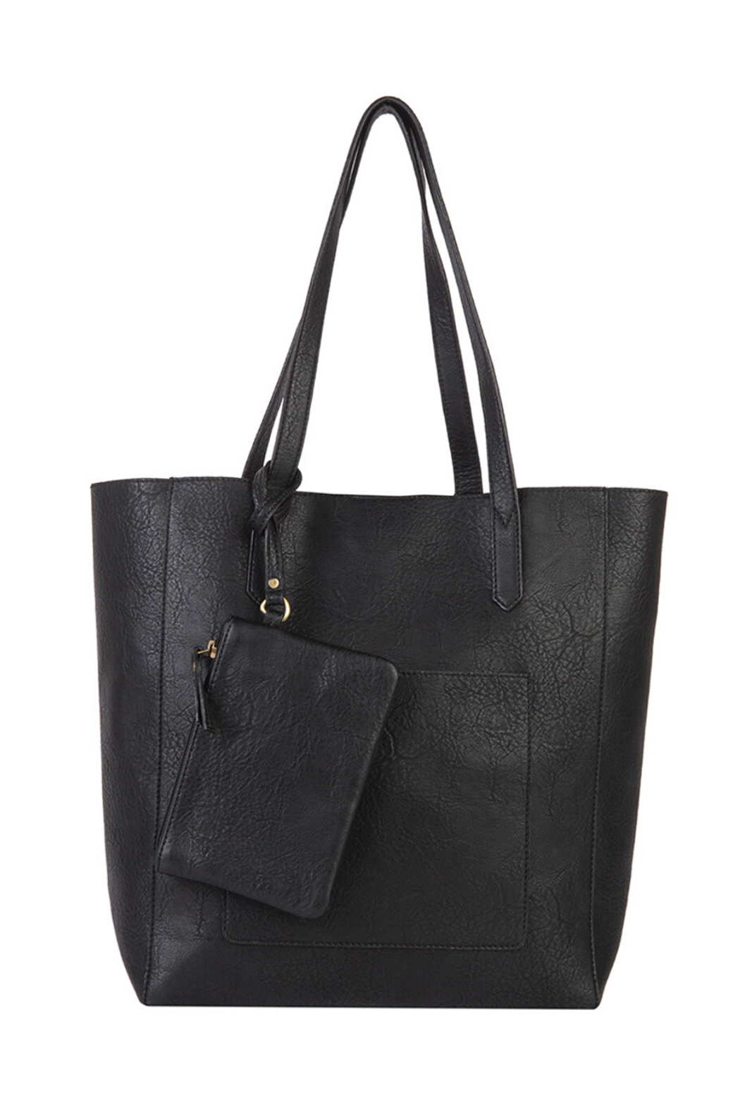 Mona B Mallory 3 Pc Vegan Leather Tote - Side Cropped Image