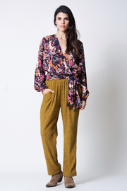 wanderlux  Malo Wrap Top - Front cropped