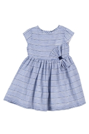 Malvi & Co. Blue Striped Dress. - Product Mini Image