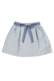 Blue Wool Skirt