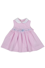 Malvi & Co. Gingham Smocked Dress. - Product Mini Image
