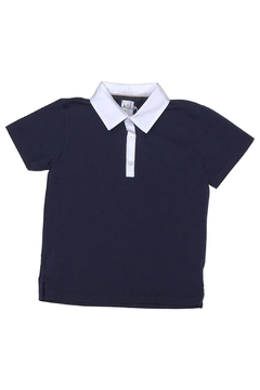 Shoptiques Product: Navy Polo T Shirt