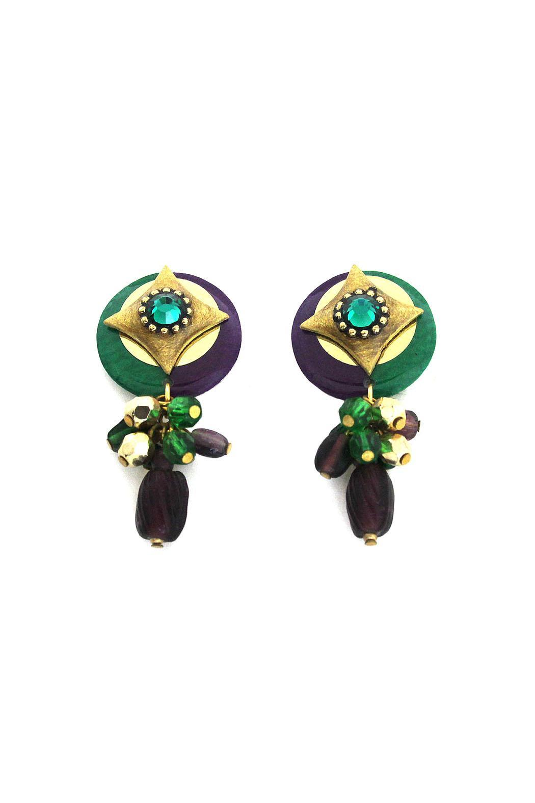mam earrings mam mardi gras earrings from alabama by jubilee gift shop 8873