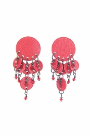 MAM Boutique Carrie Red Rin Earrings - Product Mini Image