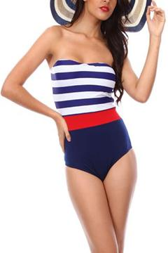 Shoptiques Product: Nautical One-Piece Swimsuit
