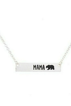 Shoptiques Product: Mama-Bear Bar Necklace