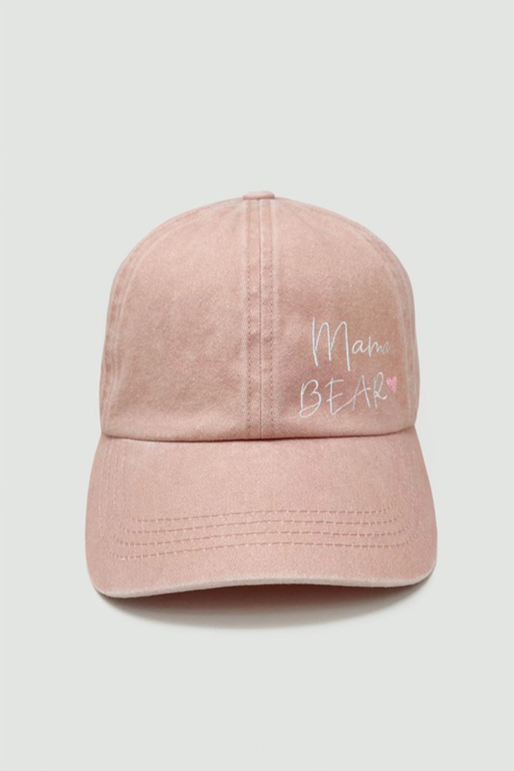 david and young Mama Bear Embroidered Cap - Front Cropped Image